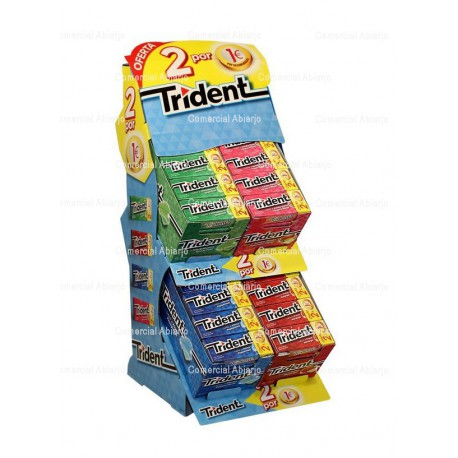 LOTE TRIDENT 2x1€
